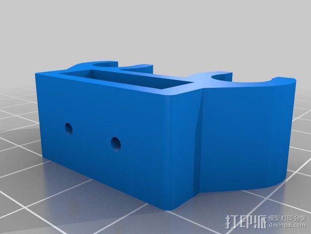 限位开关 3D模型  图3