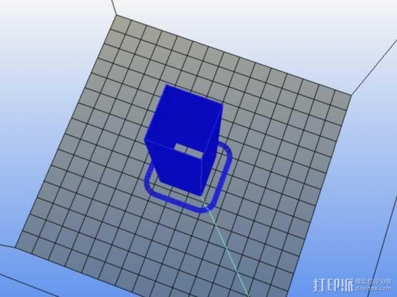 打印温度测试 3D模型  图3
