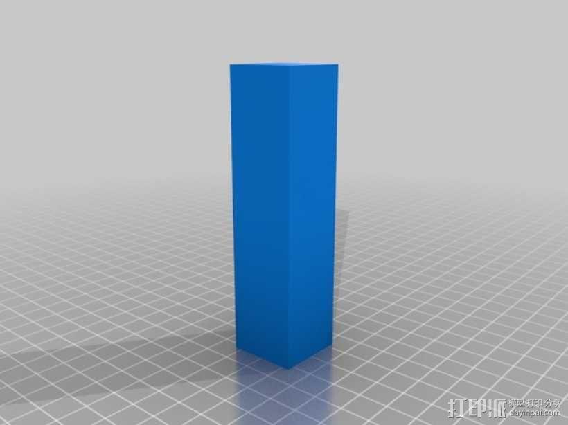 打印温度测试 3D模型  图2