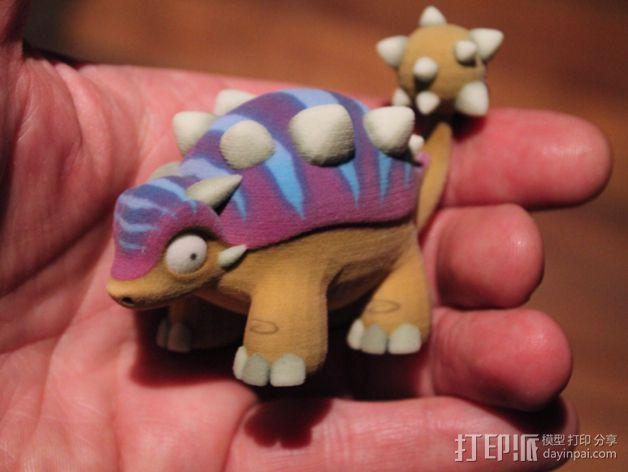 小恐龙 3D模型  图6