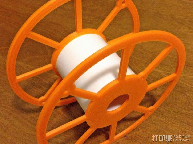 3D打印机线轴架 3D模型  图1
