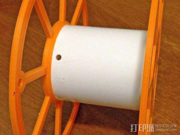 3D打印机线轴架 3D模型  图2