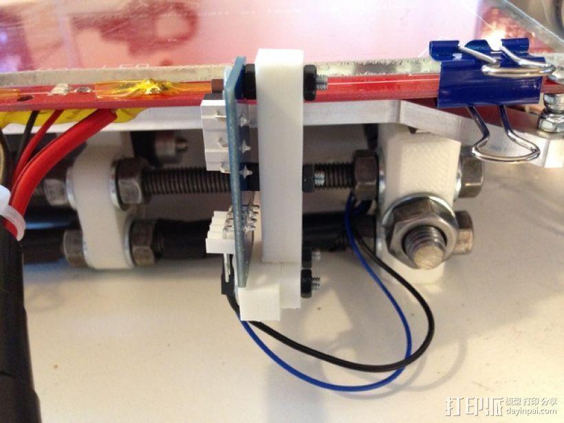 打印机Y轴限位开关支架 3D模型  图1