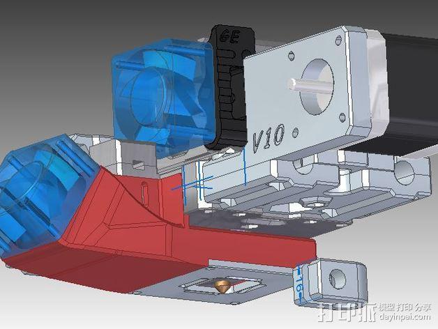 GRRF PRotos打印机 3D模型  图4