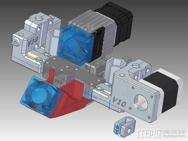 GRRF PRotos打印机 3D模型  图2