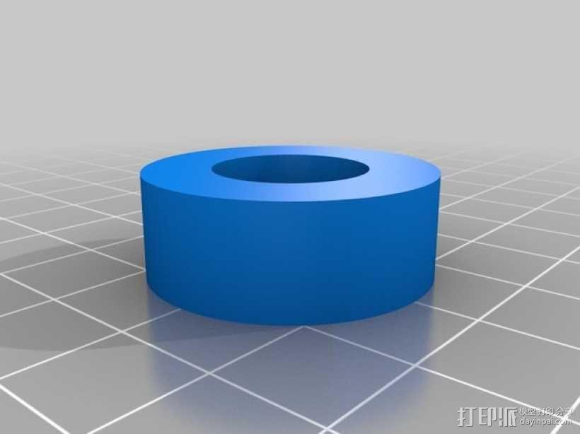 平放式线轴 3D模型  图5
