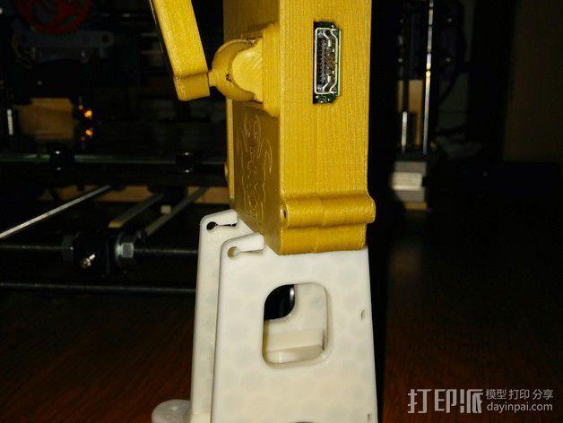 Octopi WiFi相机保护框 3D模型  图3