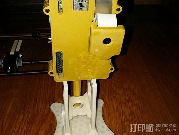 Octopi WiFi相机保护框 3D模型  图2