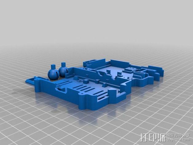 Octopi WiFi相机保护框 3D模型  图5