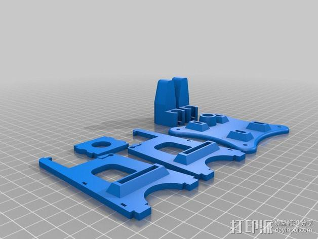 Octopi WiFi相机保护框 3D模型  图6