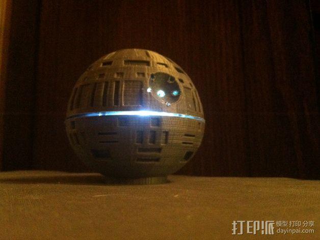 死亡星球球形灯 3D模型  图4