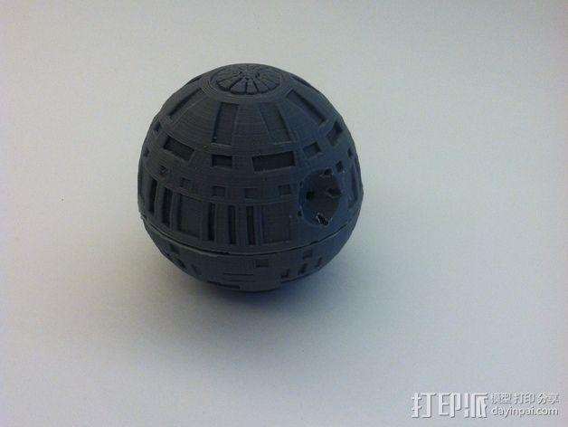 死亡星球球形灯 3D模型  图6