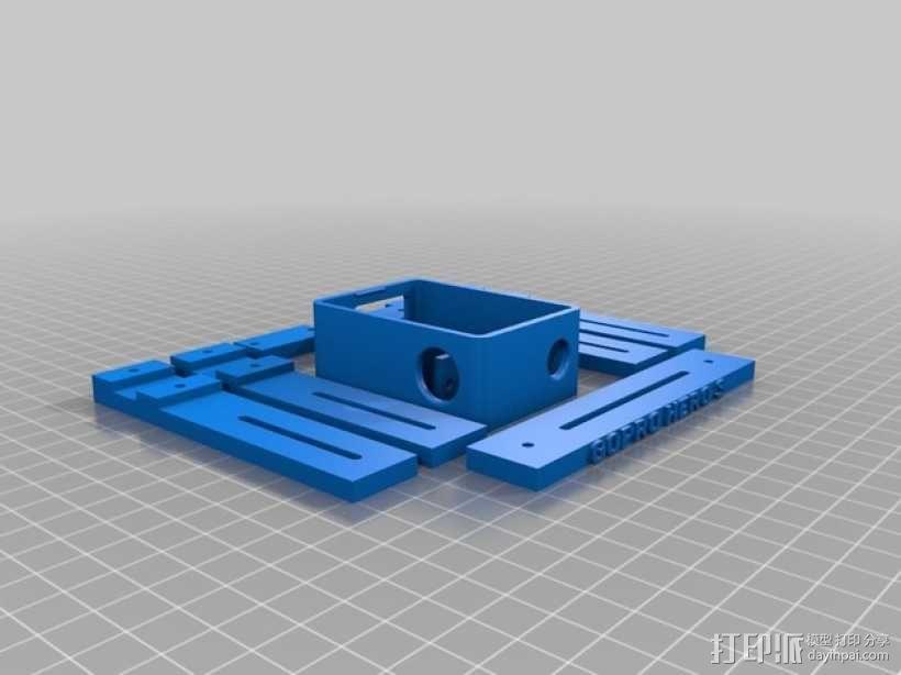 GoPro Hero 3相机支架 3D模型  图7