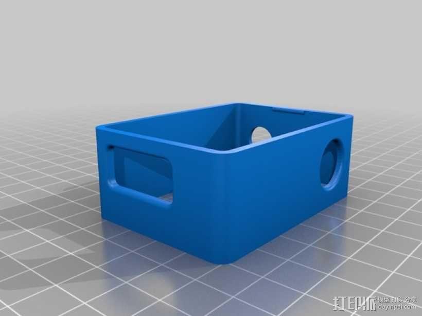 GoPro Hero 3相机支架 3D模型  图8