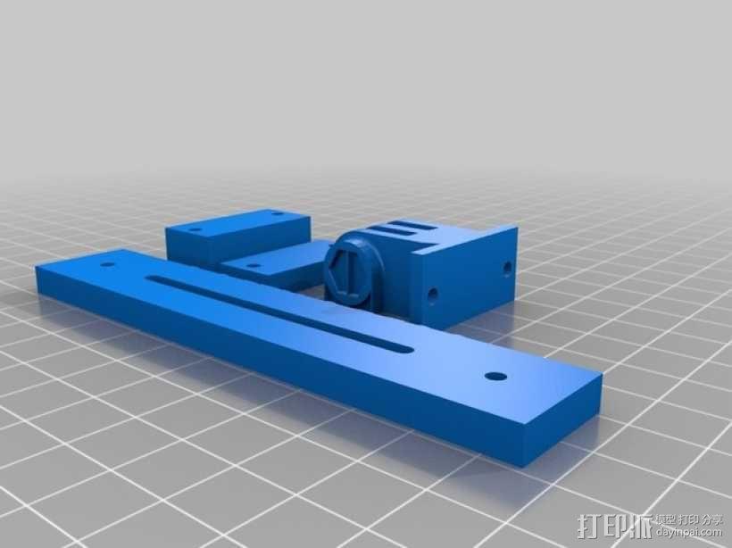 GoPro Hero 3相机支架 3D模型  图9