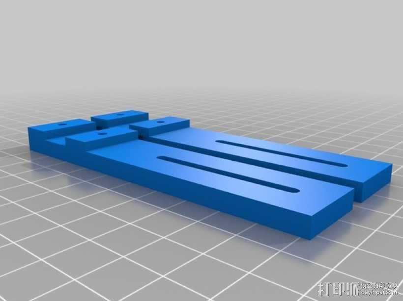 GoPro Hero 3相机支架 3D模型  图10