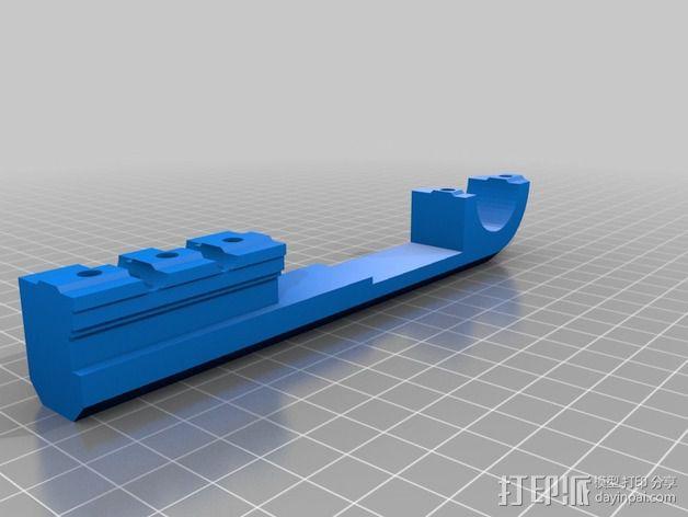 Velleman K8200打印机Z轴 3D模型  图2