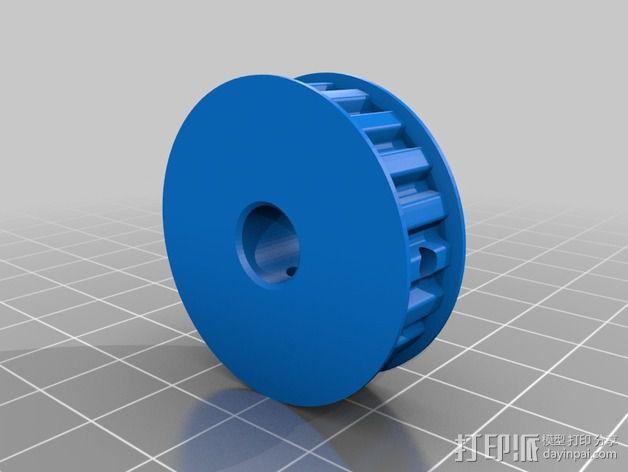 Velleman K8200打印机Z轴 3D模型  图3