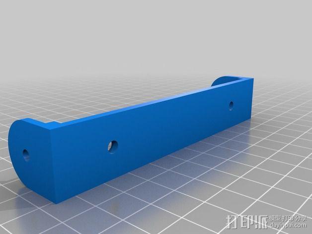 智能控制器显示屏支架 3D模型  图3