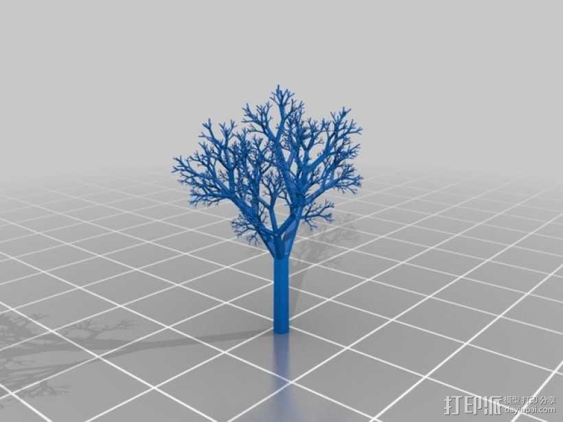 一棵树 3D模型  图1