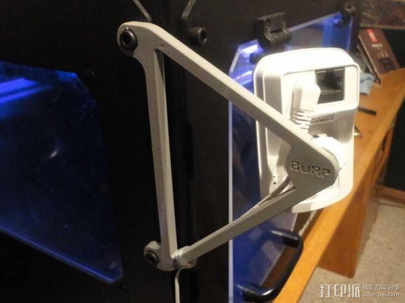 打印机相机支架 3D模型  图1