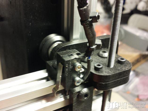 打印机限位开关支架 3D模型  图6