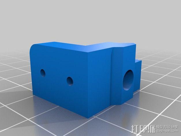 打印机限位开关支架 3D模型  图7