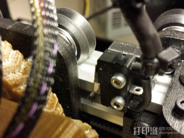 打印机限位开关支架 3D模型  图9