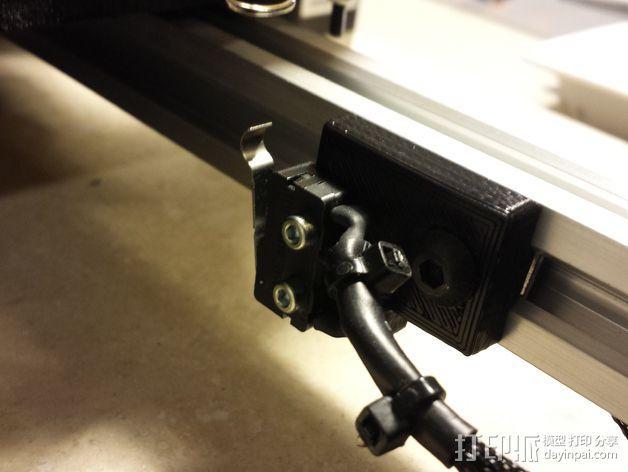打印机限位开关支架 3D模型  图10
