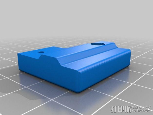 打印机限位开关支架 3D模型  图11