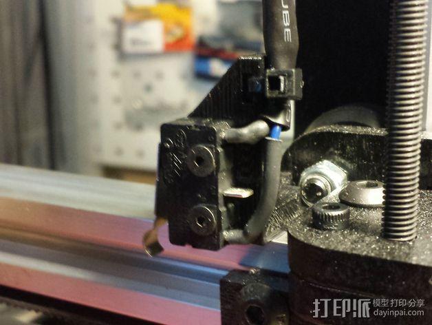 打印机限位开关支架 3D模型  图12
