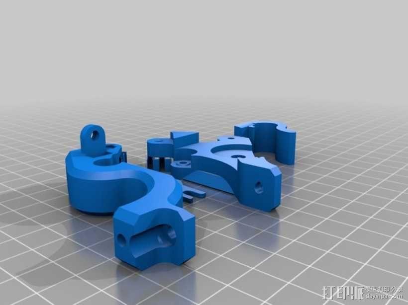 弹簧式挤出机 3D模型  图4