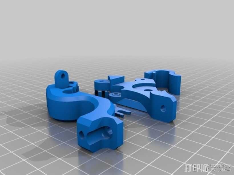 弹簧式挤出机 3D模型  图5