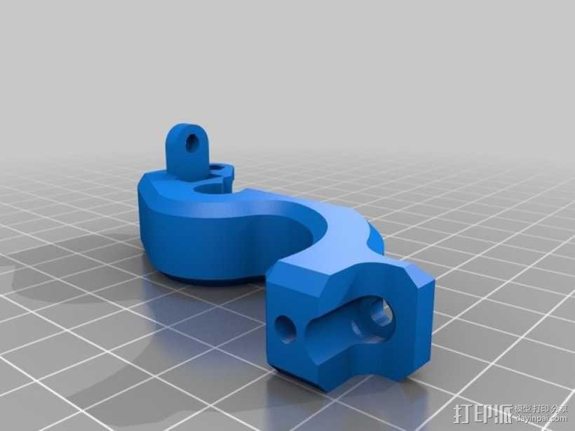 弹簧式挤出机 3D模型  图6