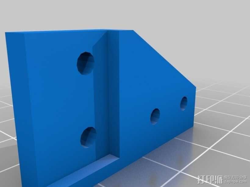 Z轴调平器 3D模型  图3