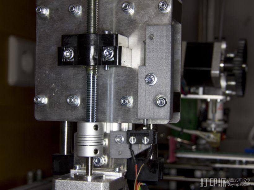 Z轴调平器 3D模型  图2