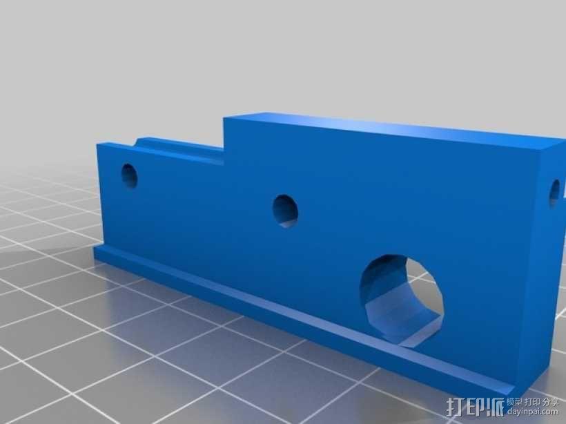 Z轴调平器 3D模型  图4