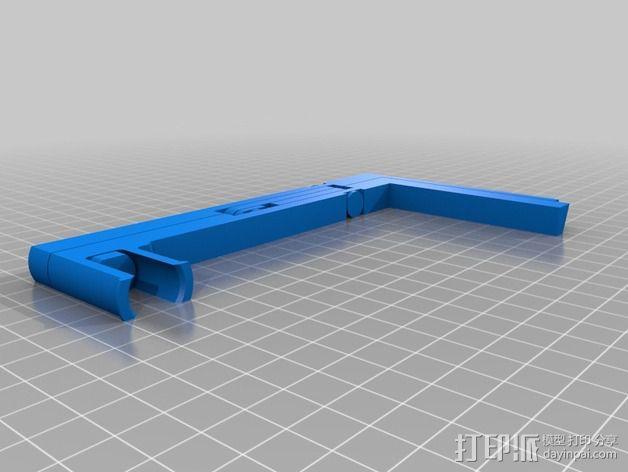 折叠式线轴支架 3D模型  图4