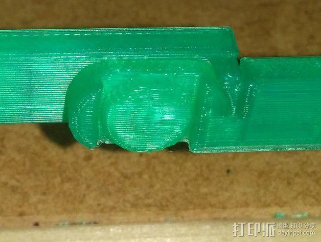 折叠式线轴支架 3D模型  图8