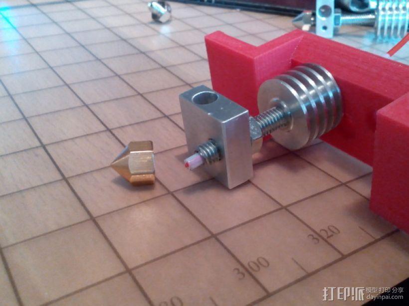 双挤出机 3D模型  图4