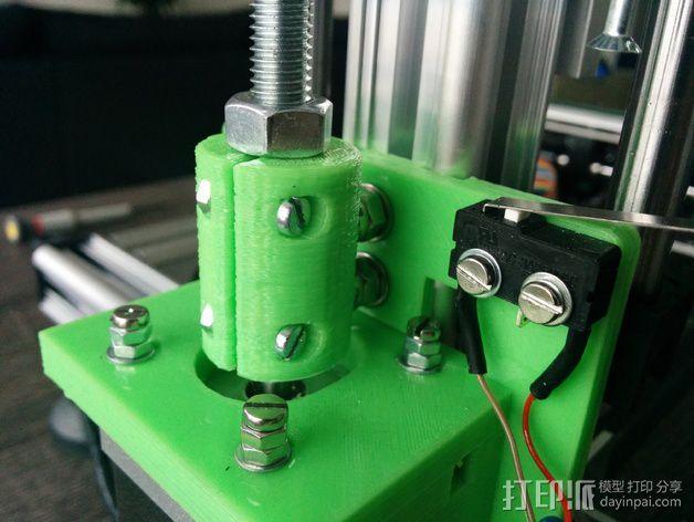 打印机Z轴耦合器 3D模型  图3