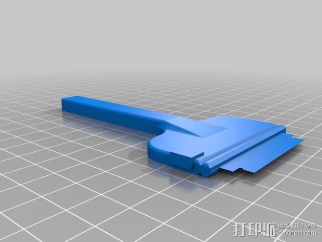 剃须刀 3D模型  图4