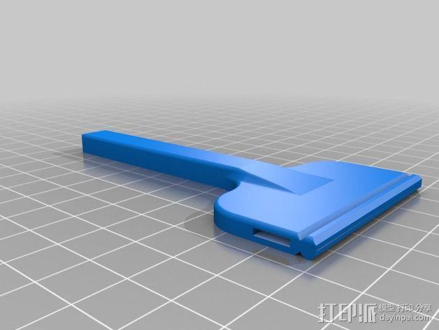 剃须刀 3D模型  图5