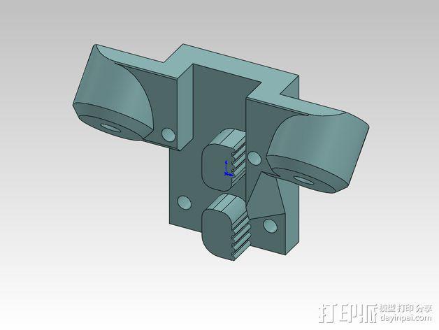 打印机磁力套件 3D模型  图3