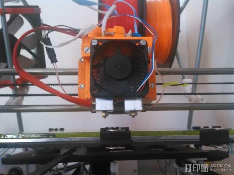 双挤出机 3D模型  图1