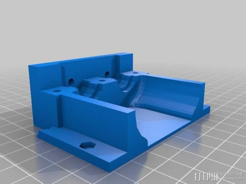 双挤出机 3D模型  图2