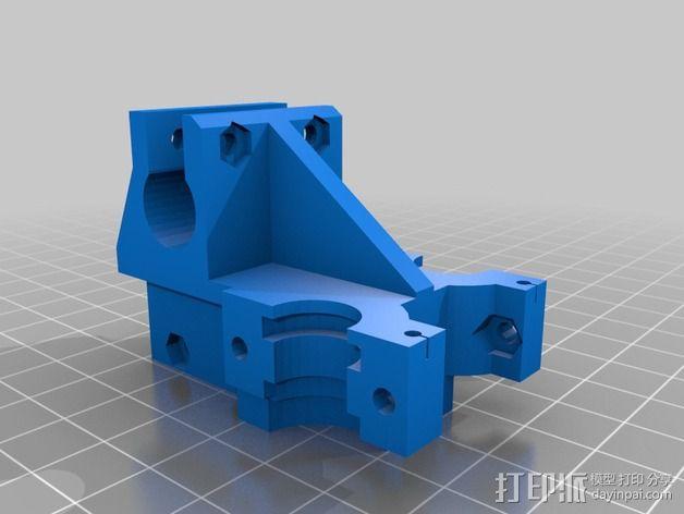 双喷头支架 3D模型  图8