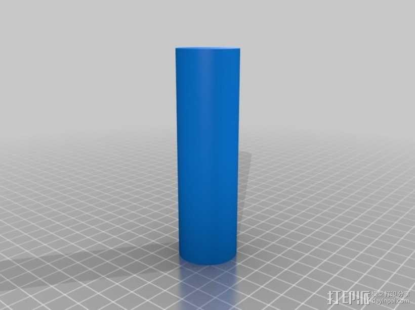 线材架 线轴架 3D模型  图5