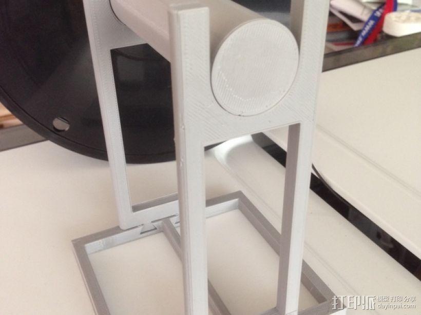 线材架 线轴架 3D模型  图3