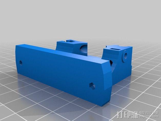 鲍登挤出机 3D模型  图5